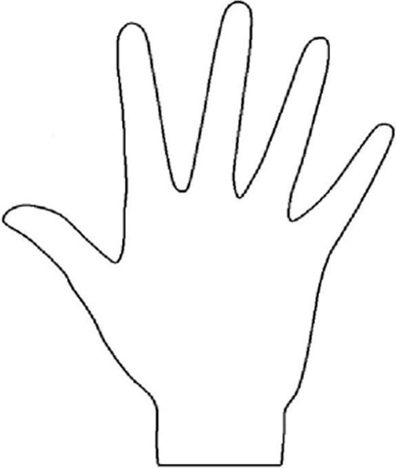 Mehndi Hands Clipart : Blank henna template pinterest and templates