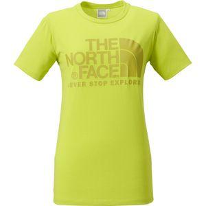 THE NORTH FACEロゴをシンプルかつ大胆にデザイン。いつの時代も色褪せない定番Tシャツです。素材はソフトな風合いで速乾性に優れるダクロン®QDコットン。メンズもあり。/カラードームティー ¥4,200-(税別)(THE NORTH FACE)/THE NORTH FACE+金沢店TEL:076-232-2271/TATEMACHI SPRING COLLECTION 2014