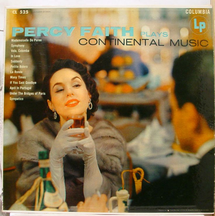 25 Best Percy Faith Album Covers Images On Pinterest