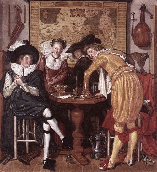 1620-1622 Willem Pietersz. Buytewech - Merry Company