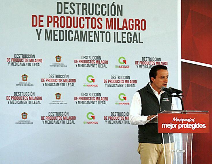 En Estado de México se destruyeron 10 toneladas de productos milagro y medicamentos ilegales - http://plenilunia.com/novedades-medicas/en-estado-de-mexico-se-destruyeron-10-toneladas-de-productos-milagro-y-medicamentos-ilegales/37010/