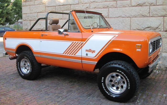 Hemmings Find of the Day – 1976 International Scout II Rallye | Hemmings Daily
