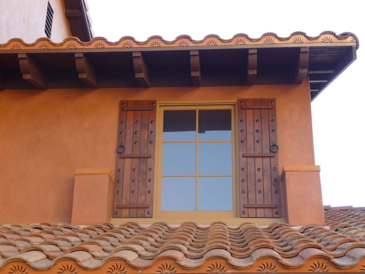 46 best images about tuscan shutters on pinterest red - Exterior wooden shutters for windows ...