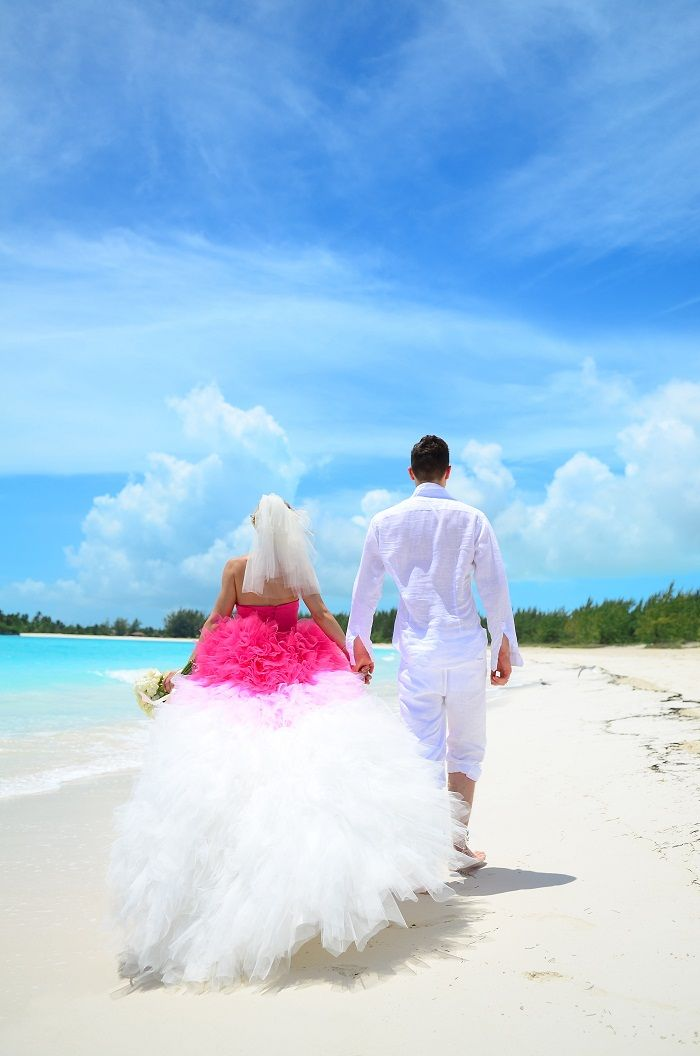 all inclusive beach wedding destinations%0A Sandals Real Wedding  Diana and Alexander u    s FreeSpirited Beach Wedding