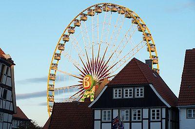 Ferris Wheel at Kirmes in Soest