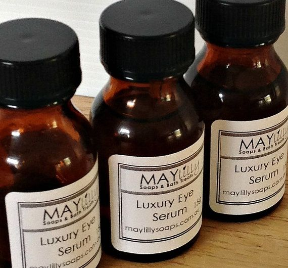 Luxury Eye Serum  Concentrated Oils Rosehip by MaylillySoaps