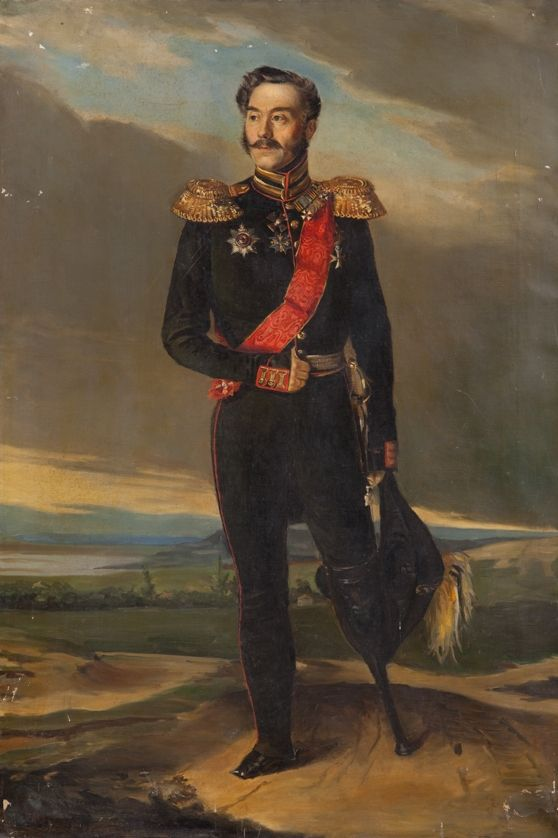Портрет Д. Г. Грекова (Арнольди). Неизвестный художник. Вторая четверть XIX в.