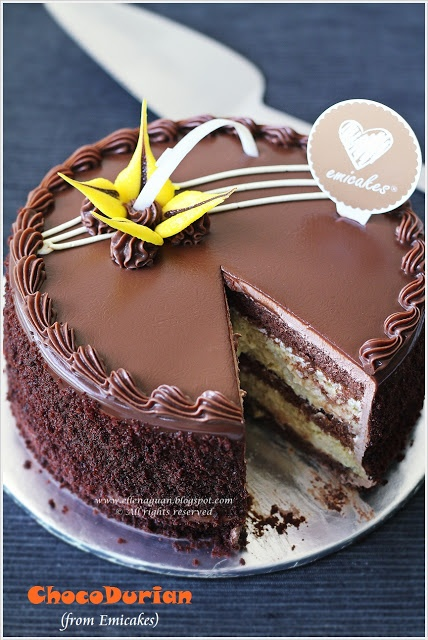 Choco-Durian Cakes @ Emicakes