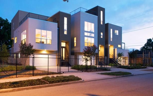 73 best multi family architecture images on pinterest for Contemporary home builders houston