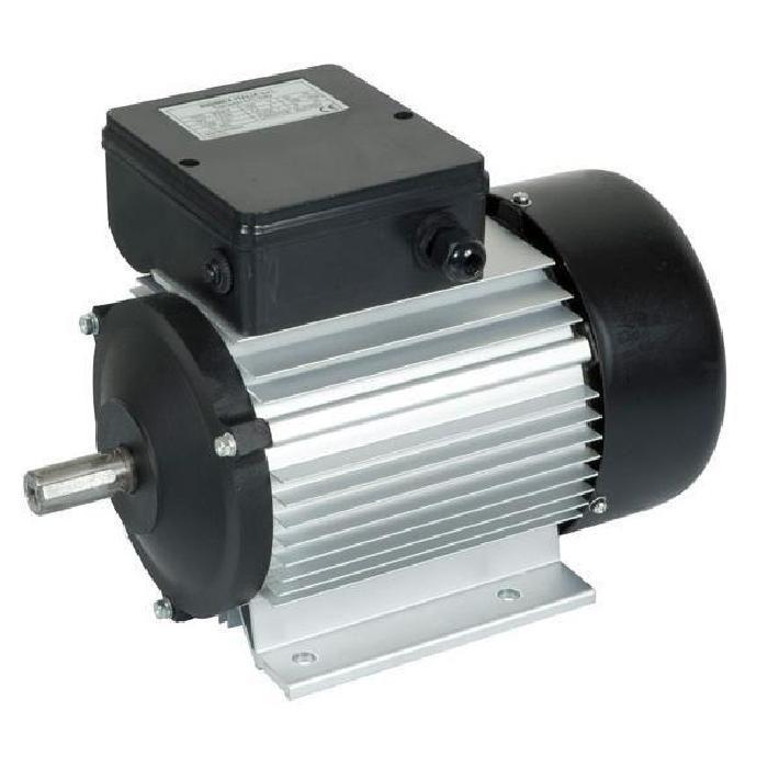 Moteur électrique monophasé 2CV 2800 tour / minutes. Moteur électrique pour compresseur à air comprimé mais aussi pour machine outils, ou machine à bois. Condensateur de d
