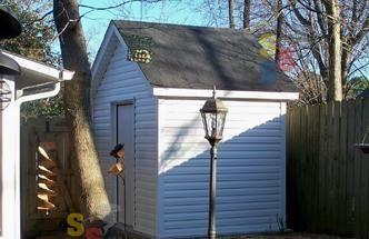 Storm shelter shed Steel Storm Shelters LLC - Henderson, TN