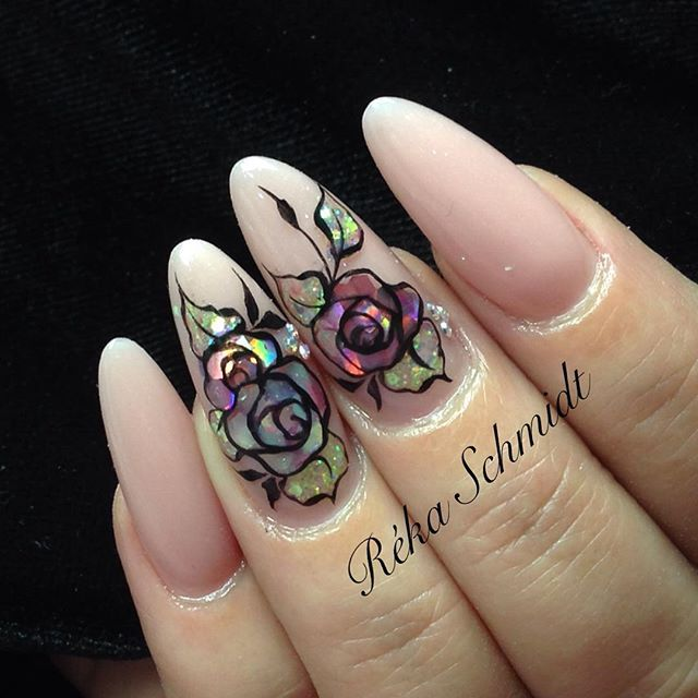 #crystalnails #nagel #nails #nail #fashion #style #cute #beauty #beautiful #pretty #girl #girls #stylish #sparkles #shine #styles #gliter #glitter #nailart #art #unhas  #rosa #love #shiny #nailschool #acrylicnails #rekaschmidt