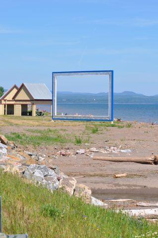 Cadre à Maria. Photo : Tourisme Gaspésie. #Gaspesie
