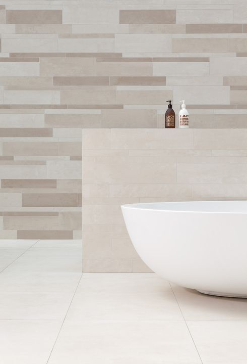 The Beige & Brown Tiles collection plays with neutral, grey and reddish shades in gradations from beige to brown, delivering 12 color options, available in 9 plank patterns and sizes. Tiles are highquality unglazed porcelain.