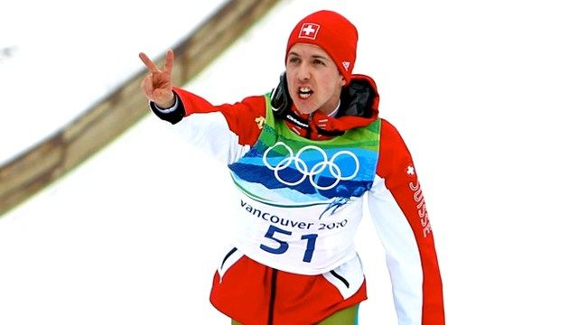Simon Ammann flag bearer for Switzerland