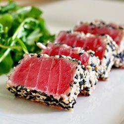Sesame crusted Ahi Tuna