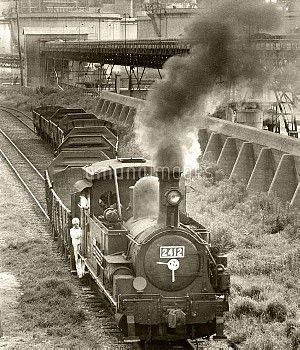 日本最古の「2412」号蒸気機関車が引退(1968年)