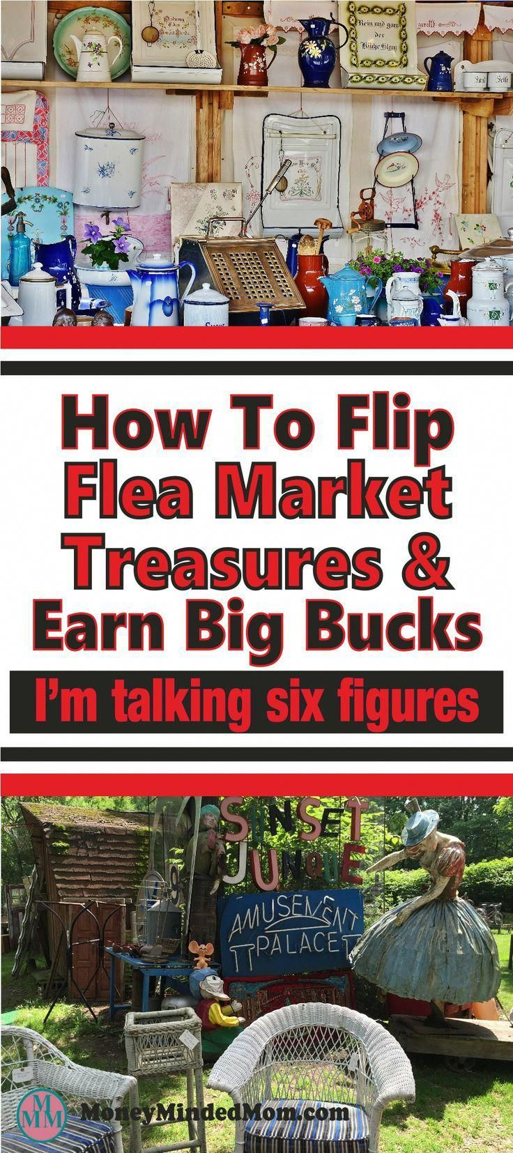 How this family makes over $100,000/yr Flea Market Flipping – Little of this