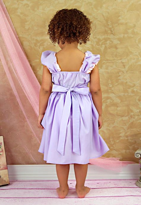 NOW SHOWING in the Tide Laundry commercial called  Little Princess ************* RAPUNZEL DRESS **************     This is such a fun new