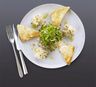 melba toast pate and salad - Google Search