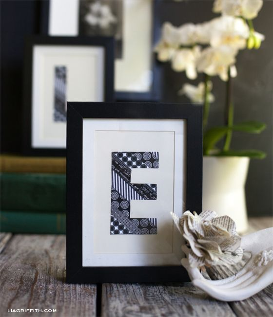 washi tape art. that's about as cheap as it gets.