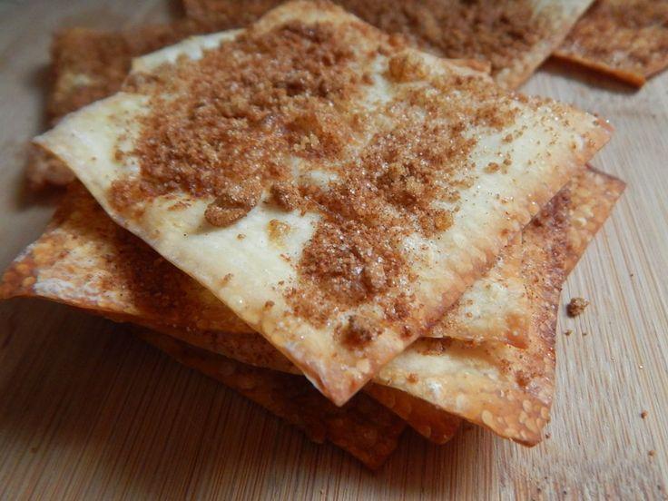 Apple cinnamon sugar crisps – Drizzle Me Skinny!