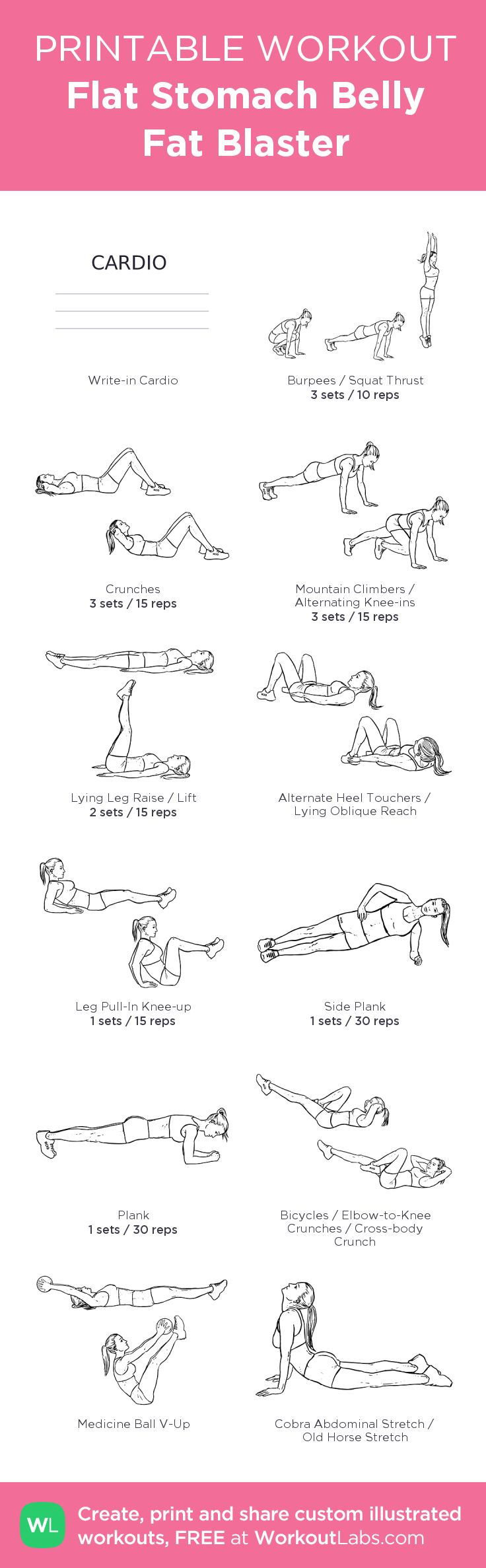Custom AB workout