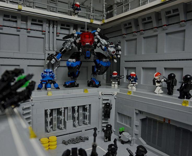 LEGO MOC | Space Police Exo Hanger