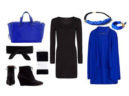 Egy ruha háromszor: kötött kis fekete Egy ruha, háromféleképpen, mert ki mondta, hogy az ősz a halmozásról szól...