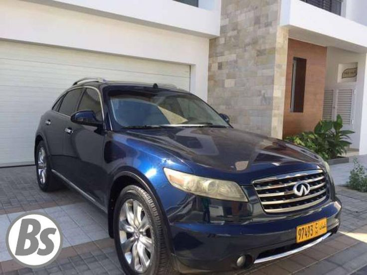 Infiniti FX45 2007 Muscat 166 000 Kms  2400 OMR  Mohmmed 98298939  For more please visit Bisura.com  #oman #muscat #car #plate #plateinoman #platenumber #sellingplate #plateoman #classified #bisura #bisura4habtah #carsinoman #sellingcarsinoman #muscatoman #muscat_ads