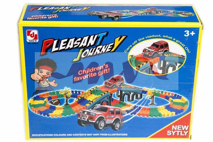 Set creativ Pleasant Journey. Stimuleaza imaginatia si creativitatea copilului dumneavoastra. http://www.nonstop-magazin.ro/cadouri/cadouri-copii-idei-ieftine/set-joc-creativ…