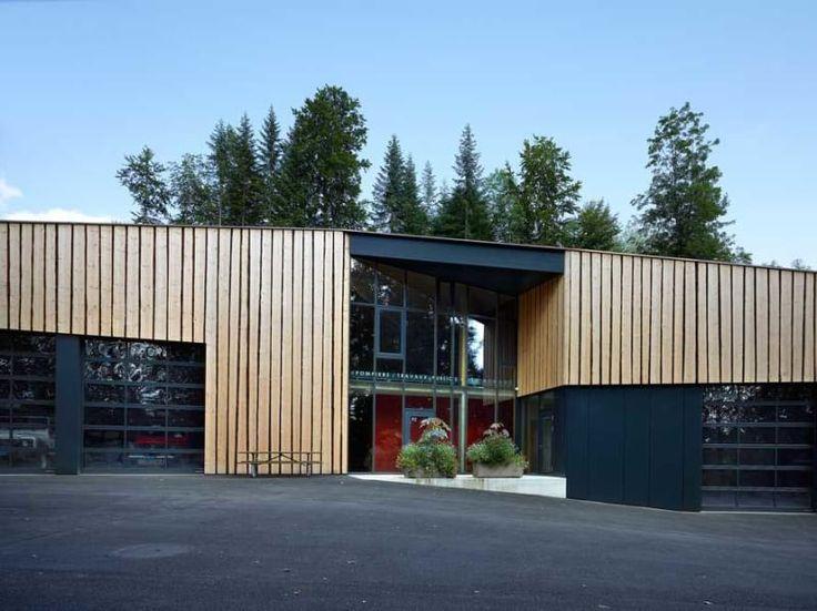 maison d'art'chitecture, Thomas Jantscher · Hangar Les Brenets