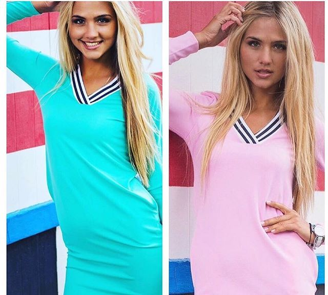 Какое платье Вам нравится больше? Розовое или бирюзовое? Это качественное спортивное платье создано именно для Вас!!! :-) Идеально смотрится с белыми кедами и сумкой. Создай свой неповторимый образ вместе с @after5shop #новоеплатье #новинки #новое #купитьукраина #спортивноеплатье #мода #спорт #красота #стиль #заказатьодежду #after5shop
