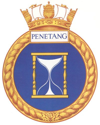 HMCS PENETANG Badge - The Canadian Navy - ReadyAyeReady.com