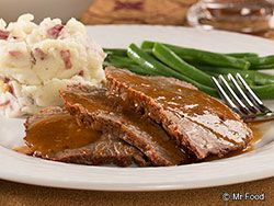 Caramelized Cola Roast - Who knew that you could use diet cola to make such an easy weeknight dinner?! And at under 200 calories per serving, you can feel good about making this for the whole family.