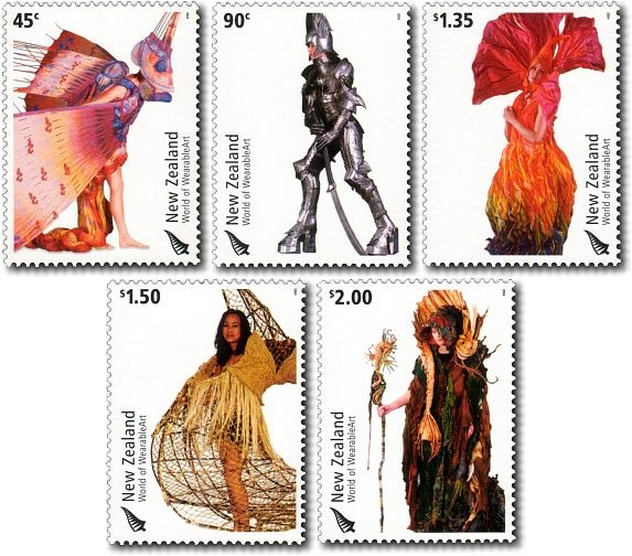NZ Postage Stamps 2004