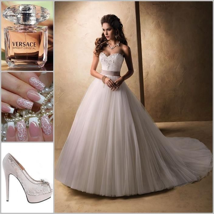 Inspiración para #Novias: #Vestidos, #Tacones, #Bolsos, #Anillos, #Tocados #weddingdress #wedding #highheels #rings
