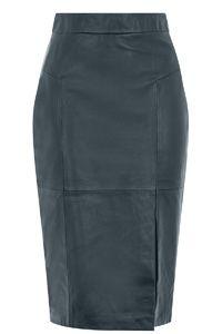 Madison Leather Pencil Skirt