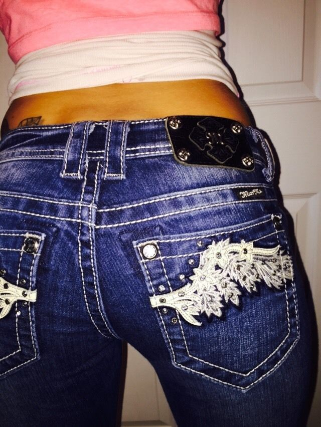 the buckle jeans miss me boot cut jeans 26 denim distressed bling angel wing  missme  bootcut