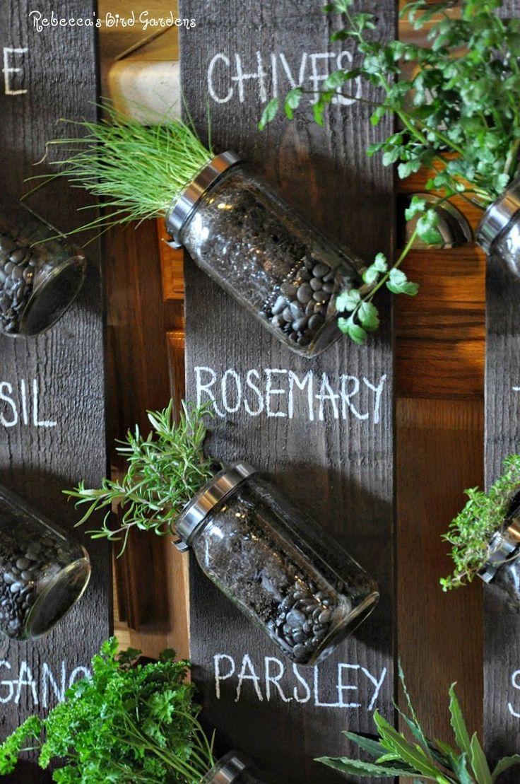 17 Best Ideas About Vertical Herb Gardens On Pinterest