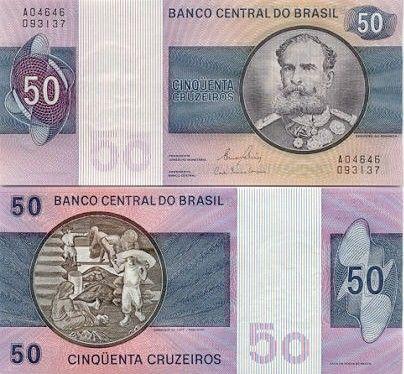 Brazil-Cinquenta Cruzeiros