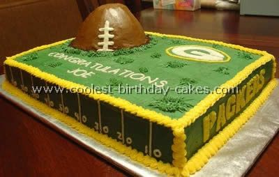 A bit much but it fits the theme! We'll be doing a football shaped smash cake and either cookies or cupcakes for everyone to eat!