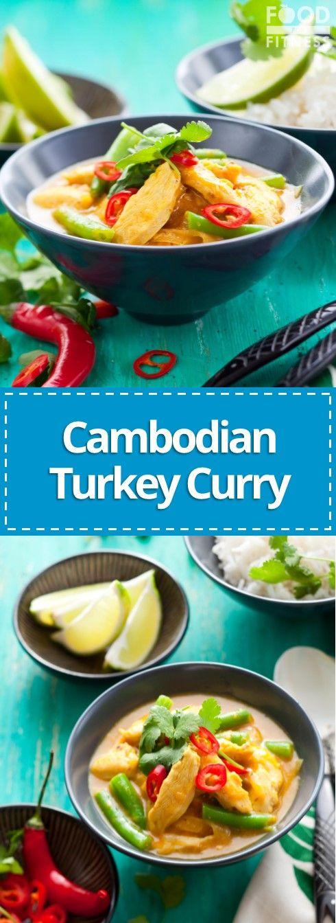 Cambodian Turkey Curry Recipe   #turkeyrecipe #cambodianfood #yum