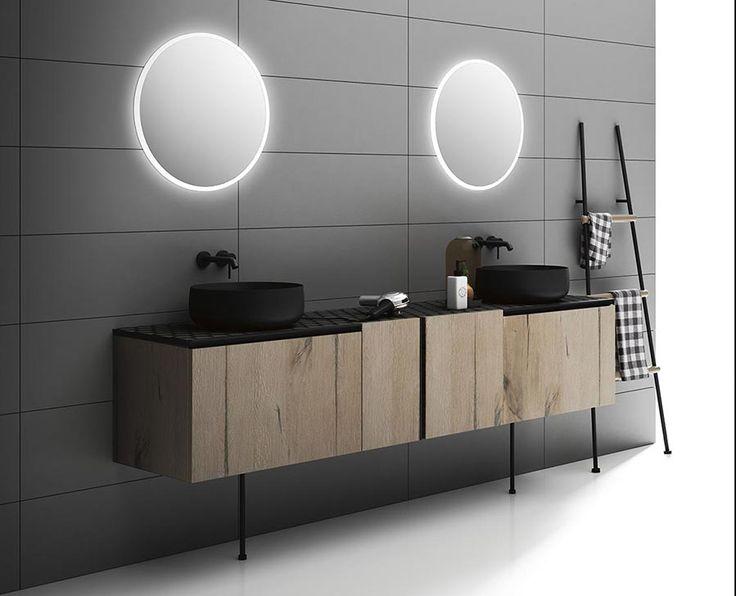 Opera è una collezione di mobili da bagno estremamente raffinata, ispirata alla…