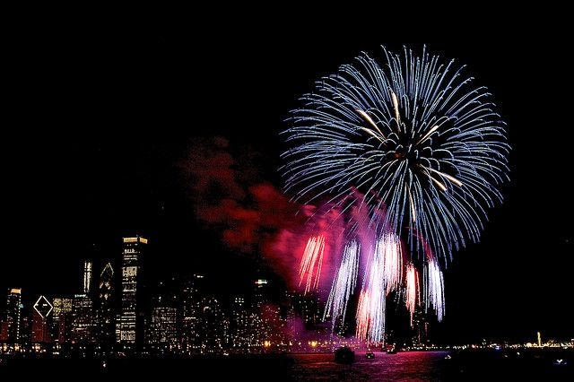 4th of july chicago concerts
