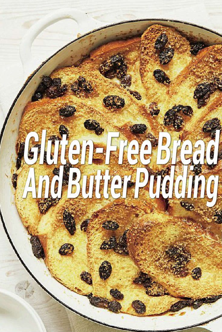 Nutritionist and dietician Susie Burrell shares a delicious, easy recipe for gluten-free bread and butter pudding – whether you're cooking for coeliac friends or not, you'll love this dessert!