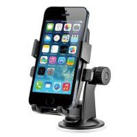 iOttie HLCRIO102 One Touch Windshield Dashboard Universal Car Mount Holder for iPhone 4S/5/5S/5C, Galaxy S4/S3/S2, HTC One - Retail Packaging - Black $19.99 #iOttie http://computer-s.com/car-mount-holders/cell-phone-holder-for-car-reviews/