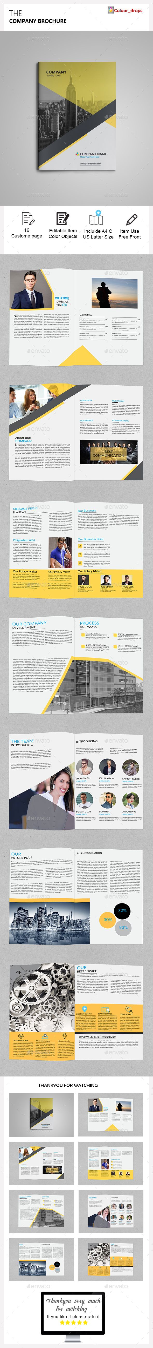 The Brochure Template InDesign INDD