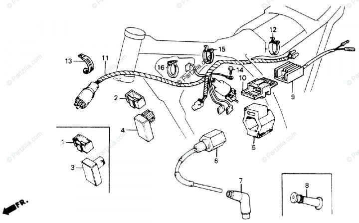 10+ Honda Xr200 Electrical Wiring Diagramhonda xr200