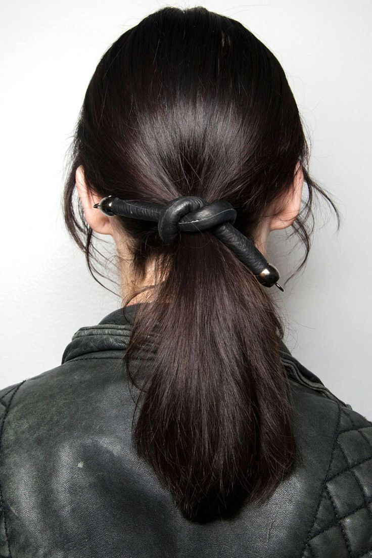 Tanya Taylor - HarpersBAZAAR.com Hair-- Leather accessories (related to the 90s)